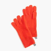 J.Crew Kids' ribbed cashmere gloves