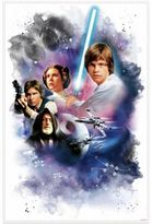 Star Wars Star WarsTM Classic Mega Peel and Stick Giant Wall Decal