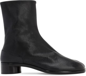 Maison Margiela 3omm Zip-up Leather Ankle Boots