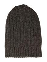 Rick Owens Rib Knitted Merinos Long Hat