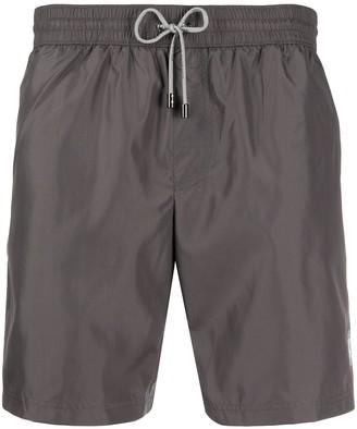 Dolce & Gabbana Zipped Pocket Swim Shorts