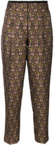 Etro floral tapered trousers - women - Polyester/Viscose - 42