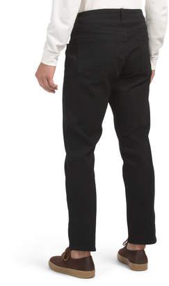 Slim Straight Stretch Denim Jeans