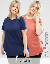 Asos Swing T-Shirt 2 Pack