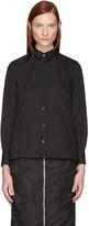 Sacai Black Classic Shirting Shirt