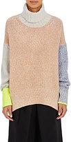 TOMORROWLAND Women's Colorblocked Turtleneck Sweater