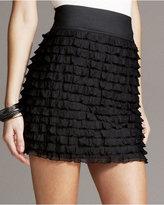 Mini Ruffle Tiered Skirt