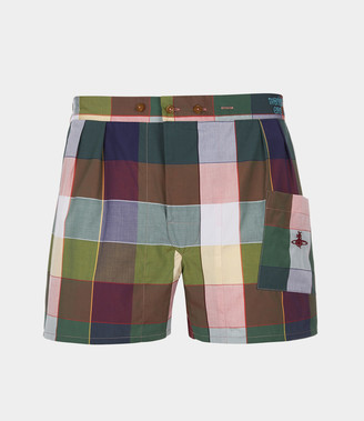 Vivienne Westwood We Boxer Shorts Gingham Multi