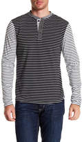 Sovereign Code Elsinore Striped Henley Shirt
