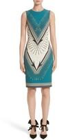 Versace Women's Scarf Print Dress