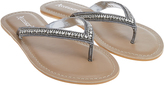 Accessorize Kim Beaded Thong Sandals