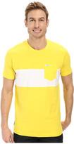 U.S. Polo Assn. Wide Chest Stripe Pocket Crew Neck T-Shirt