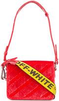 Off-White Warning Tape shoulder bag