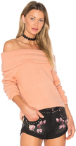 MinkPink Sunday Off Shoulder Top