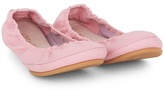 Tip Toey Joey Pink Elasticated Ballerina Pumps