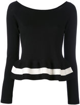 Blugirl peplum jumper - women - Cotton - 40