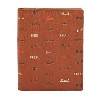 Fossil Women's Travel Leather Passport Case Wallet