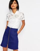 Vero Moda Floral Polo Shirt