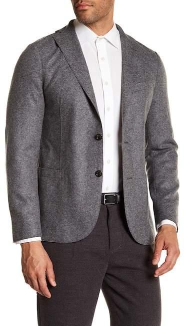Eleventy Flannel Stretch Jacket