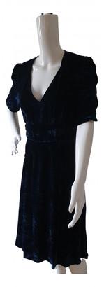 Masscob Blue Velvet Dresses