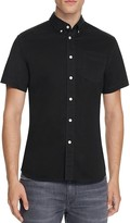 Saturdays Nyc Esquina Broken Twill Slim Fit Button-Down Shirt