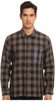 Marc Jacobs Check Linen Button Up