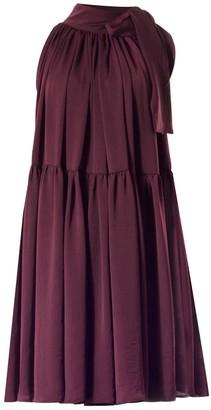 Carli Plum Dress