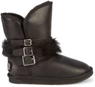 Australia Luxe Collective Hatchet Shearling & Double-Face Sheepskin Leather Boots