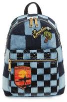 Marc Jacobs Denim Biker Backpack - Blue