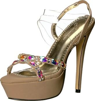 Benjamin Walk Johnathan Kayne Women's Scarlet Heeled Sandal