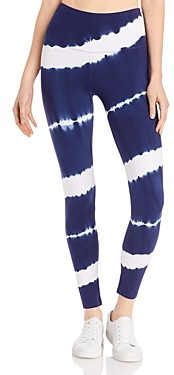 Andrew Marc Mid Rise Tie Dyed Leggings