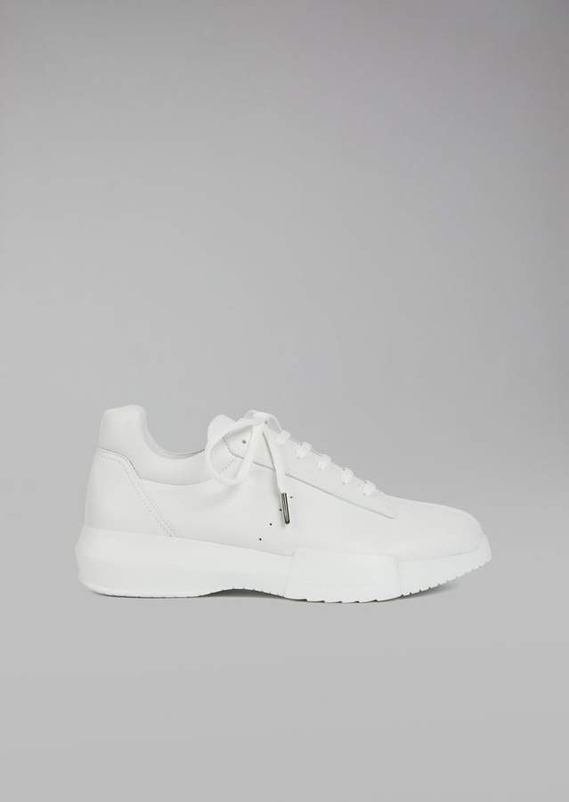 Giorgio Armani Nappa Leather Sneakers