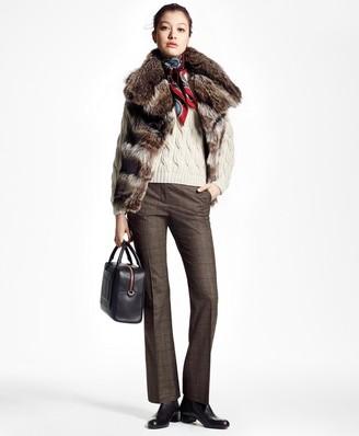 Brooks Brothers Raccoon Fur Vest