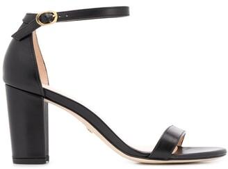 Stuart Weitzman Nearlynude block-heel sandals