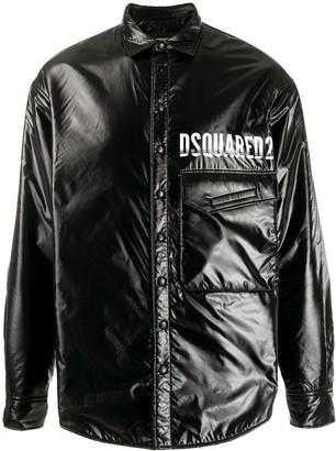 DSQUARED2 Contrast Logo Padded Jacket