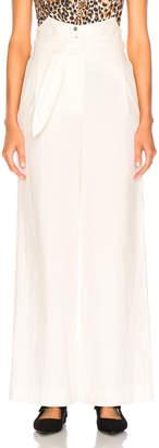 Nanushka Marie Pants in Off White   FWRD