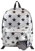 Sam Edelman Nora Star-Print Faux Leather Backpack