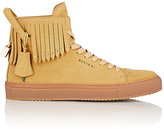 Buscemi Men's Studded Fringed 125MM Sneakers-NUDE