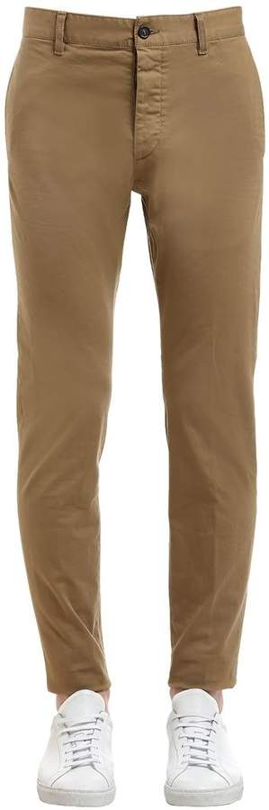 DSQUARED2 16.5cm Admiral Stretch Cotton Pants