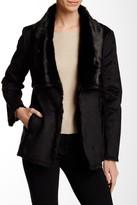 Tart Chrissy Faux Fur Trim Coat