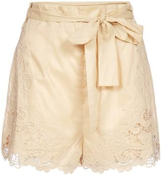 Zimmermann Brighton Scallop Shorts