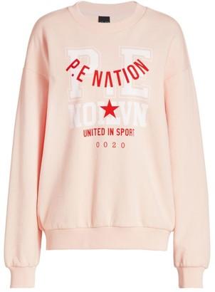 P.E Nation Calling All Nations Short Corner Sweatshirt