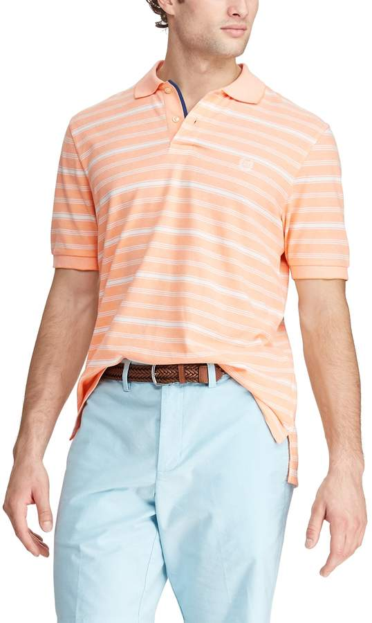 02dc71fe Men's Classic-Fit Striped Birdseye Polo