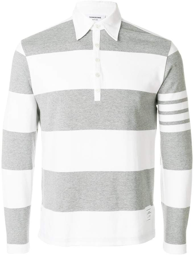 efcec1752 Thom Browne Long Sleeve Shirt - ShopStyle