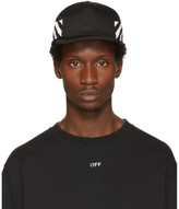 Off-White Black Diagonal Brushed Cap