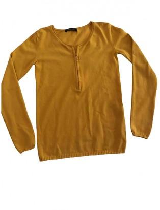 Twin-Set Twin Set Yellow Wool Knitwear for Women
