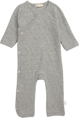 Burt's Bees Baby Quilted Organic Cotton Romper