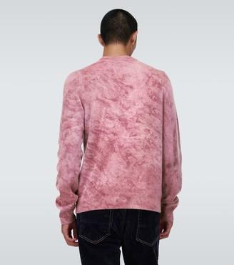Amiri Marble tie-dye sweater