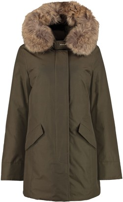 Woolrich Arctic Padded Parka With Fur Hood
