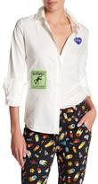Love Moschino Long Sleeve Patch Shirt